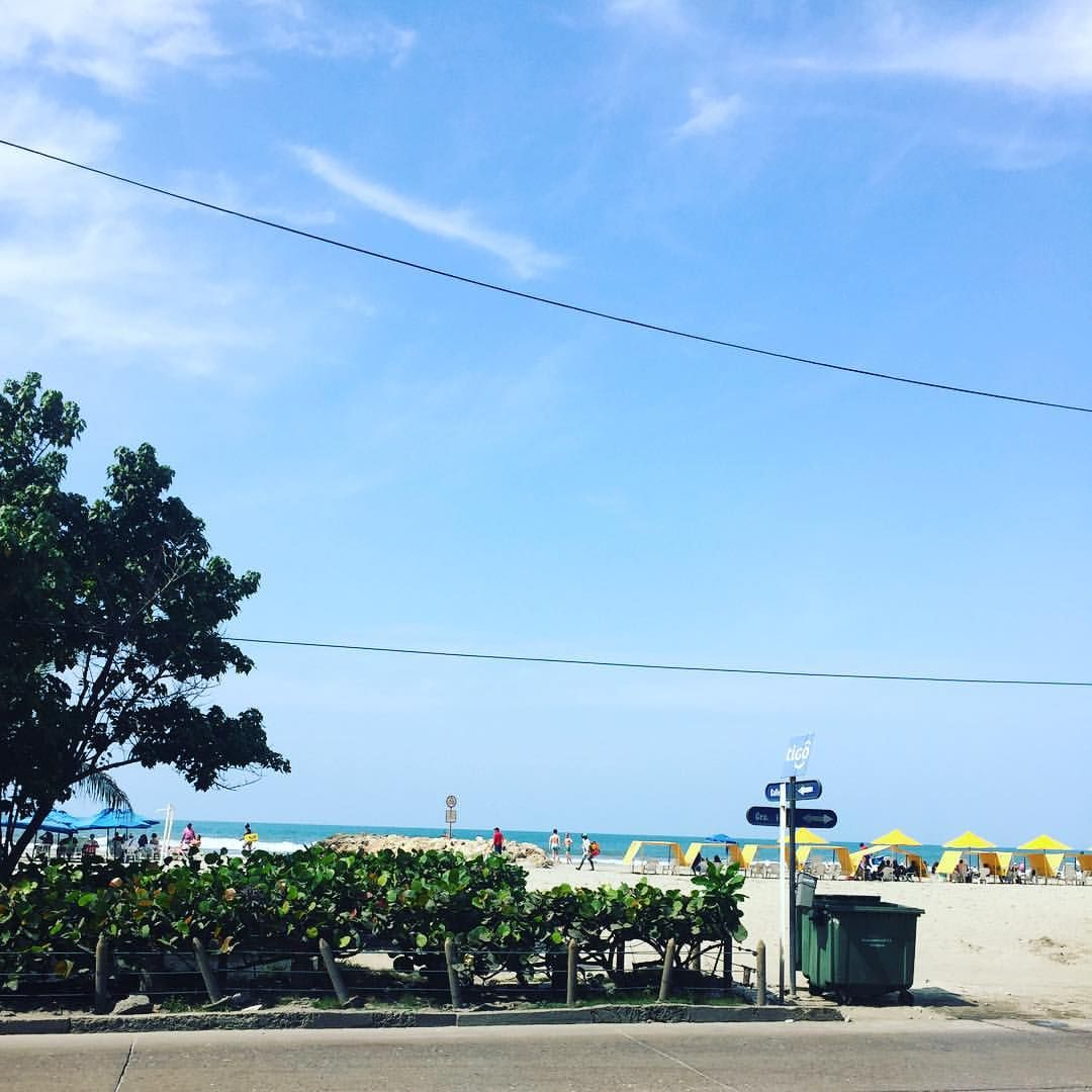 Bocagrande la playa