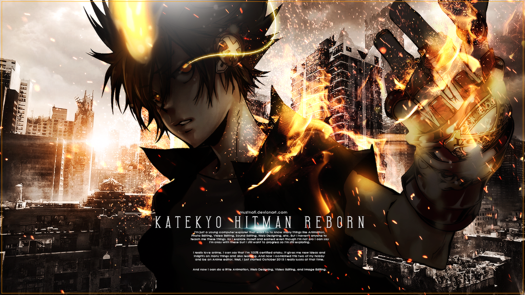 katekyo hitman reborn wallpaper 4k