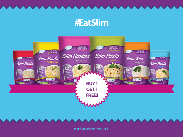 #GoodNews! #BOGOF our easy to use range till the end of Jan. #SlimSale http://www.eatwater.co.uk/products/easy-to-use-range/