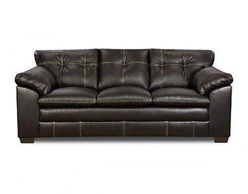 Simmons Upholstery Premier Bonded Leather Sofa 6769 S
