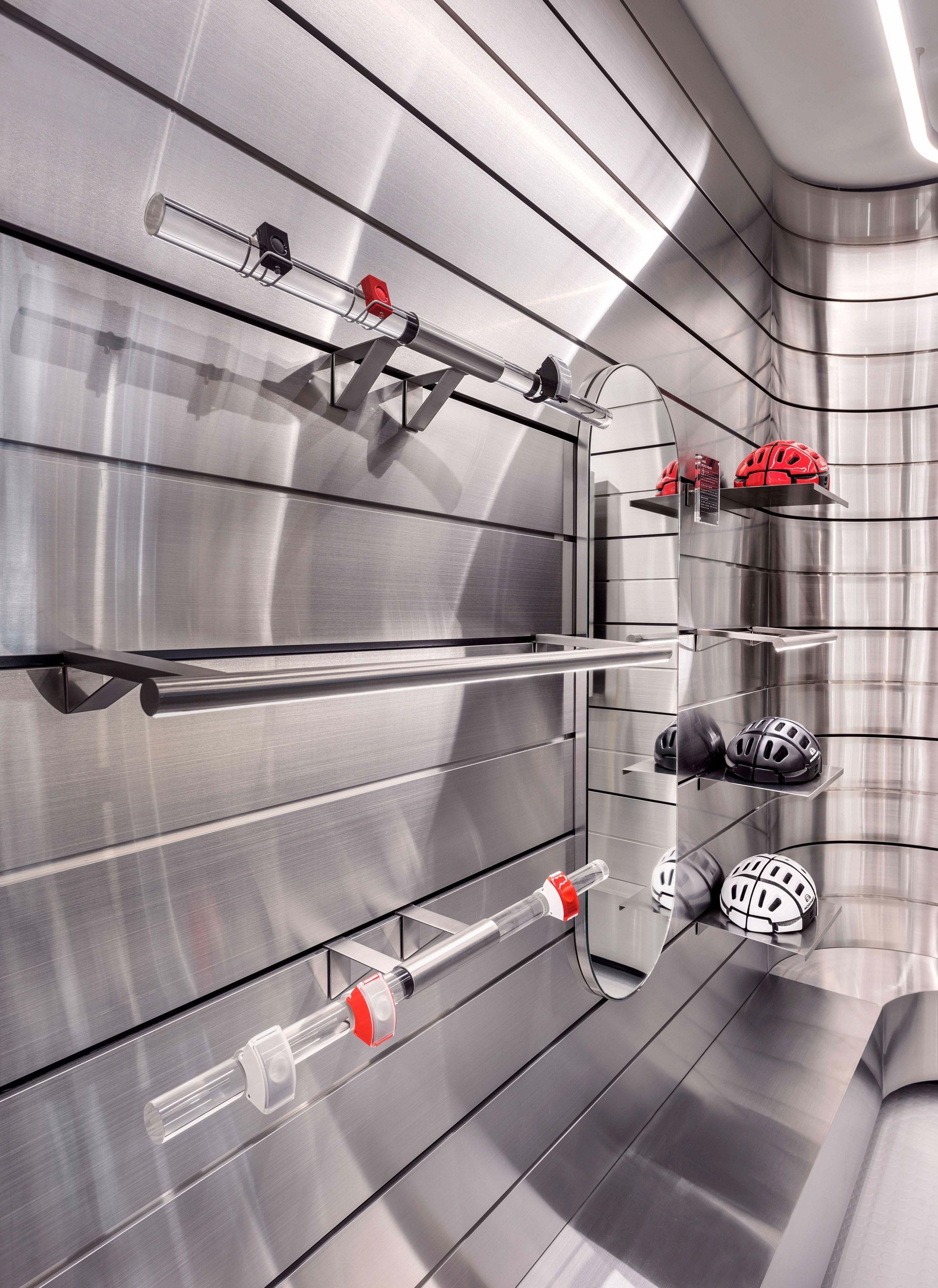 Ministry Of Design Completes Futuristic Durasport Store In