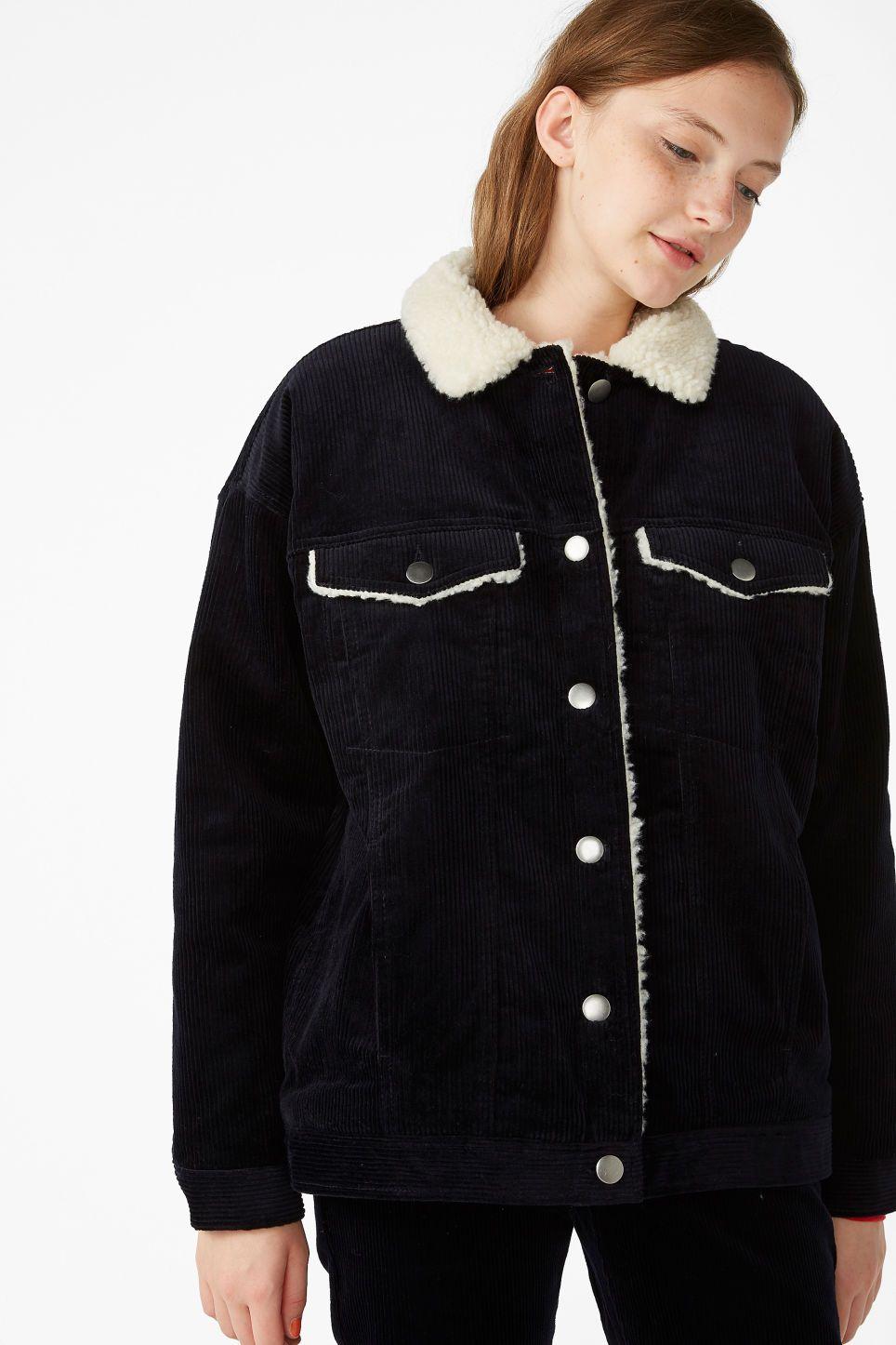 7925bb6e3 Corduroy utility jacket - Midnight hour blue - Coats & Jackets ...