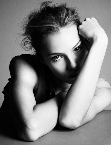 ©Marcus Ohlsson #black-and-white #photography #portrait JANE