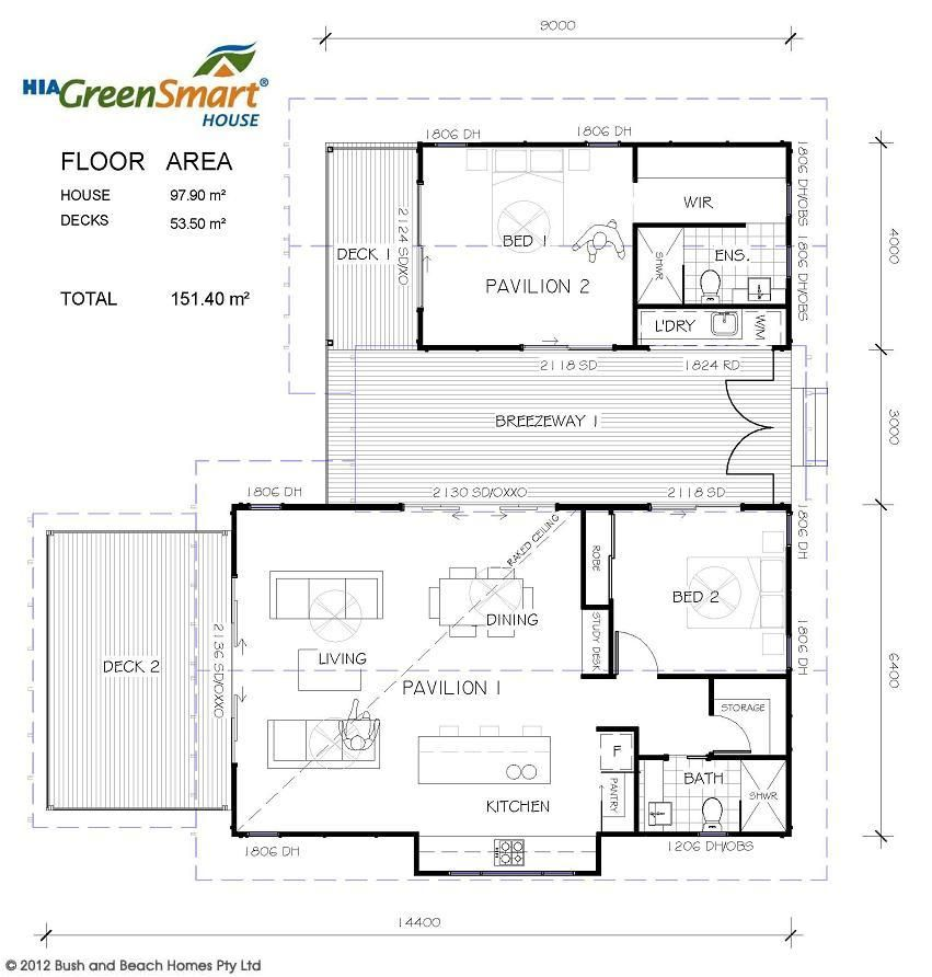 Casuarina Bush and Beach House & Home Designs - Bush and Beach House ...