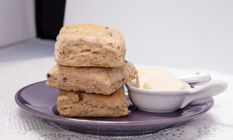 Buttermilk Thyme Biscuits from theweiserkitchen.com