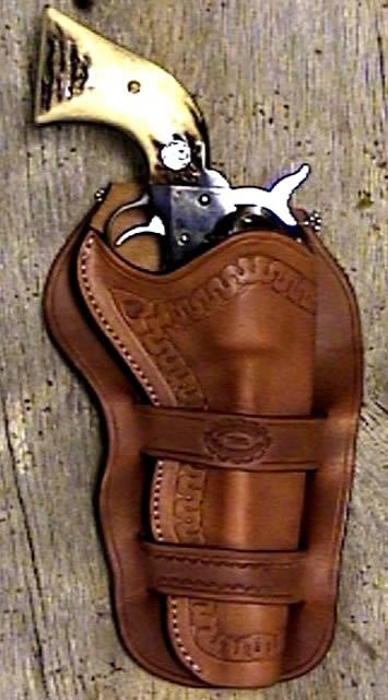 leather holster patterns | Western Leather Holsters | Old