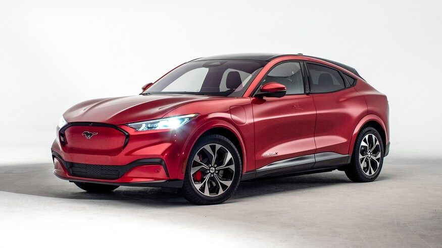 2021 Ford Mustang Mach E Electric Suv Revealed Get Photos