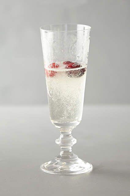 Horta Champagne Glass, Small - anthropologie.com