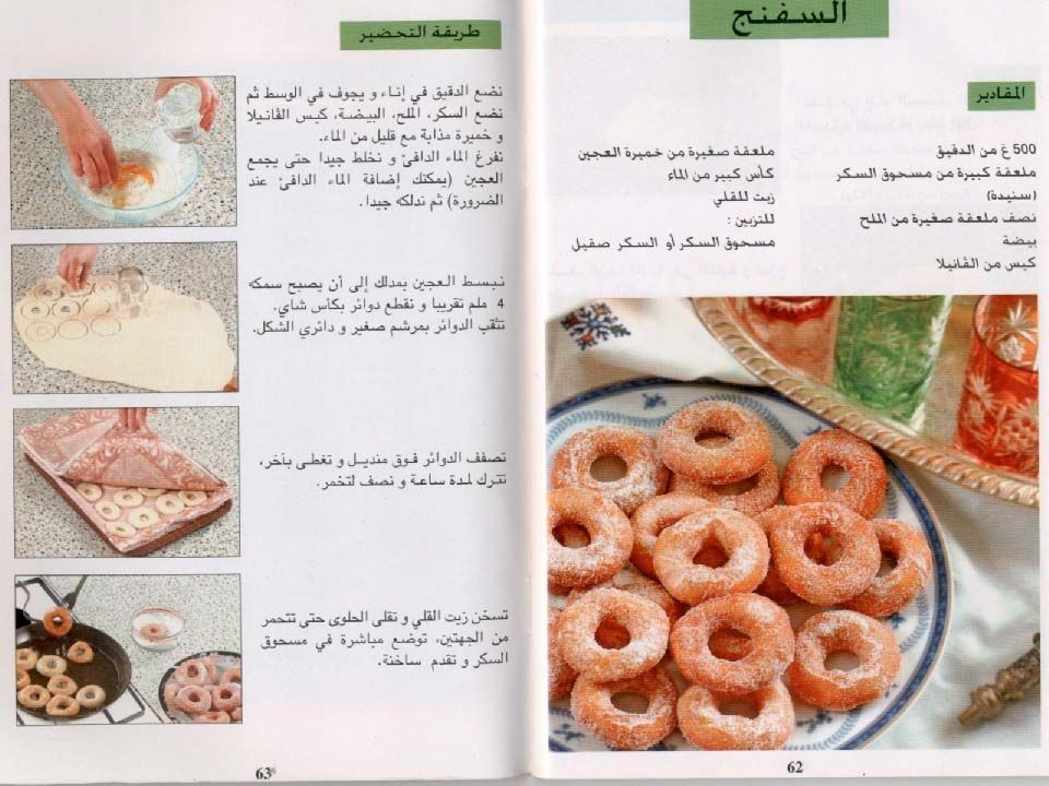 مجلات تحضير كل أنواع الحلويات Cooking Recipes Food Recipes