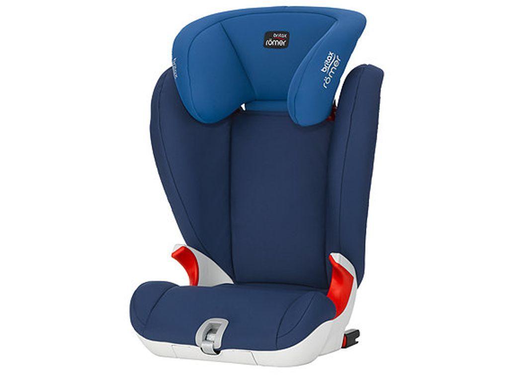 Britax R Mer Kidfix Sl High Back Booster Isofix Car Seat Ocean Blue Car Seats Baby Car Seats Child Car Seat