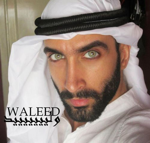 Attractive saudi arabian man