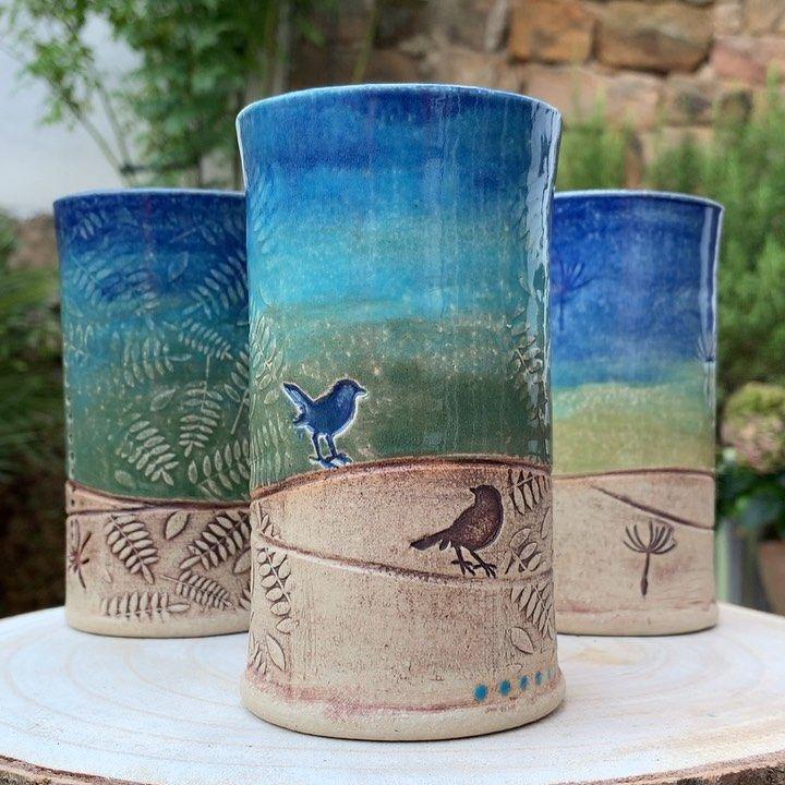 Brigitte-Marston.de – Keramik und Malerei #potteryglazes