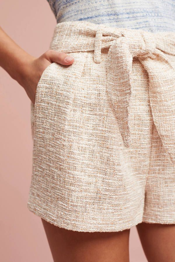 Line & Dot Tied Tweed Shorts | Shorts | Pinterest | Bermudas, Blusas ...