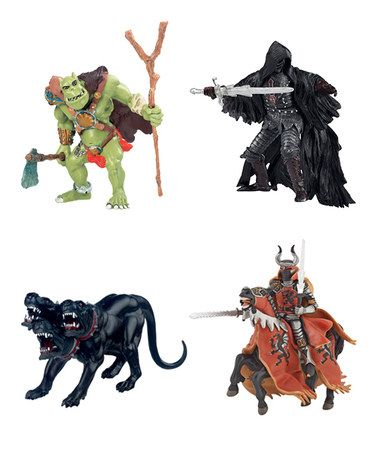 Take a look at this Darkness Battle Set by PAPO on #zulily today! $24 !!