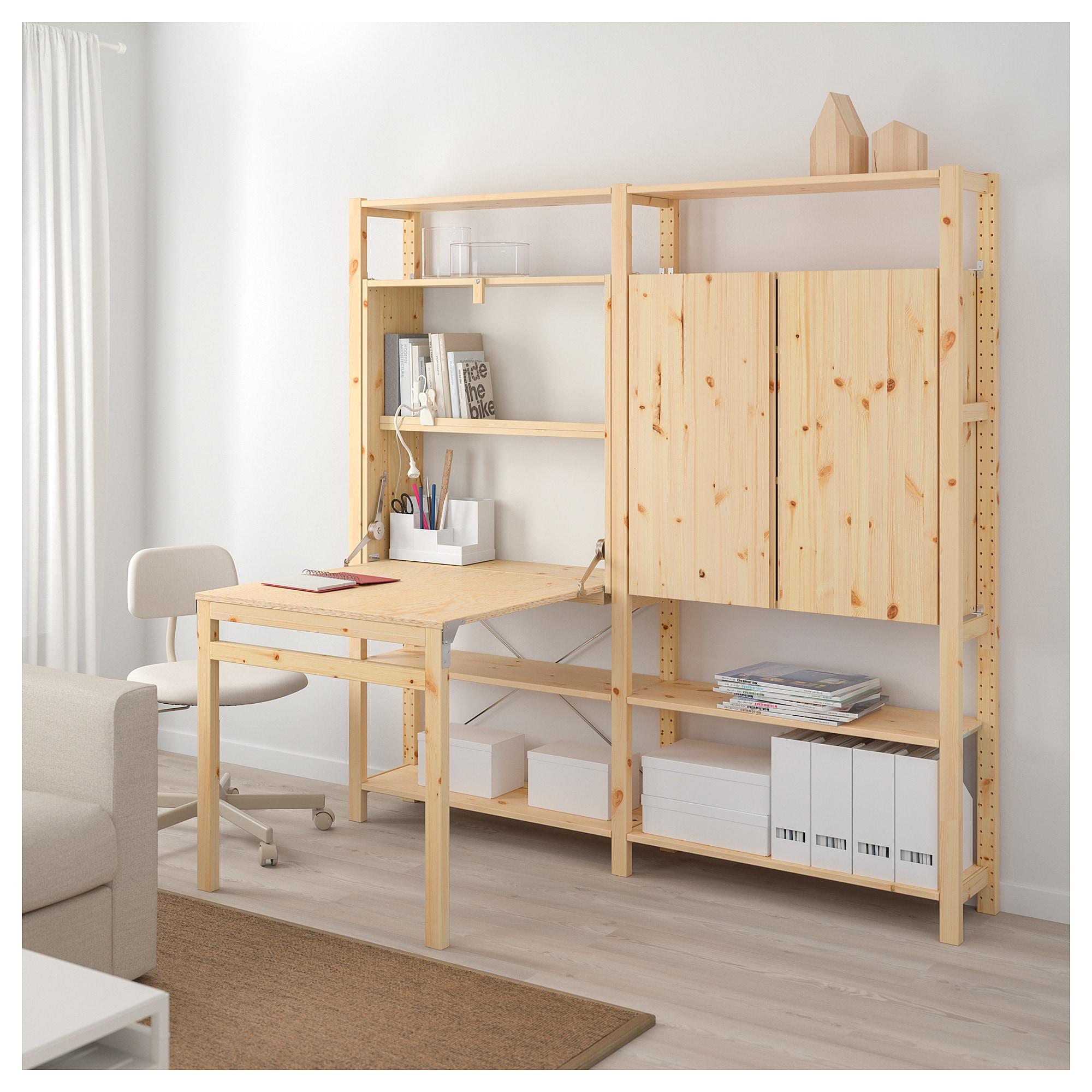 Ivar 2 Element Aufbewahrung M Klapptisch Klapptisch Ikea Regal