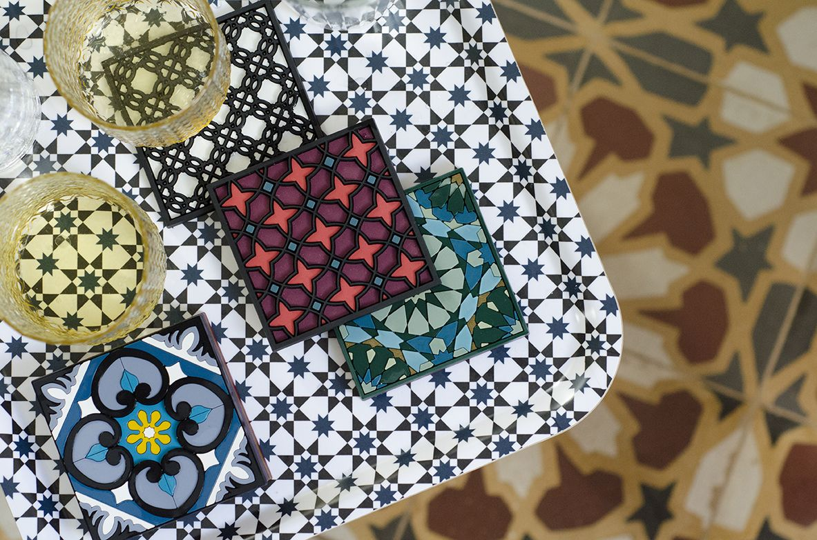 Images D'Orient - Tray And Coasters