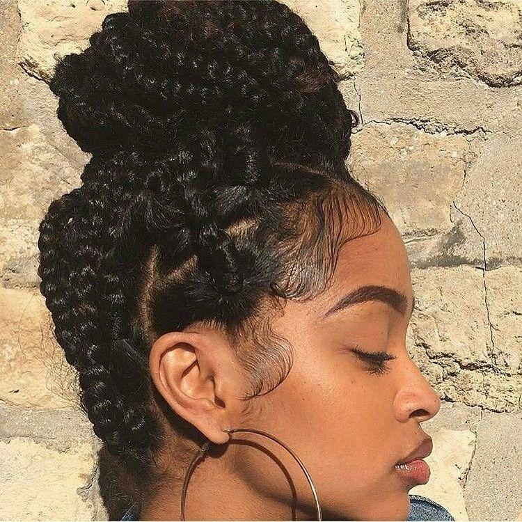Blkgirlculture Instagram Blackhair Braids Boxbraid Buns Box