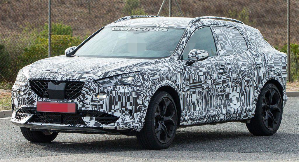 2021 Cupra Formentor Makes Spy Photo Debut Might Get Audi Sports Five-Pot Turbo Engine