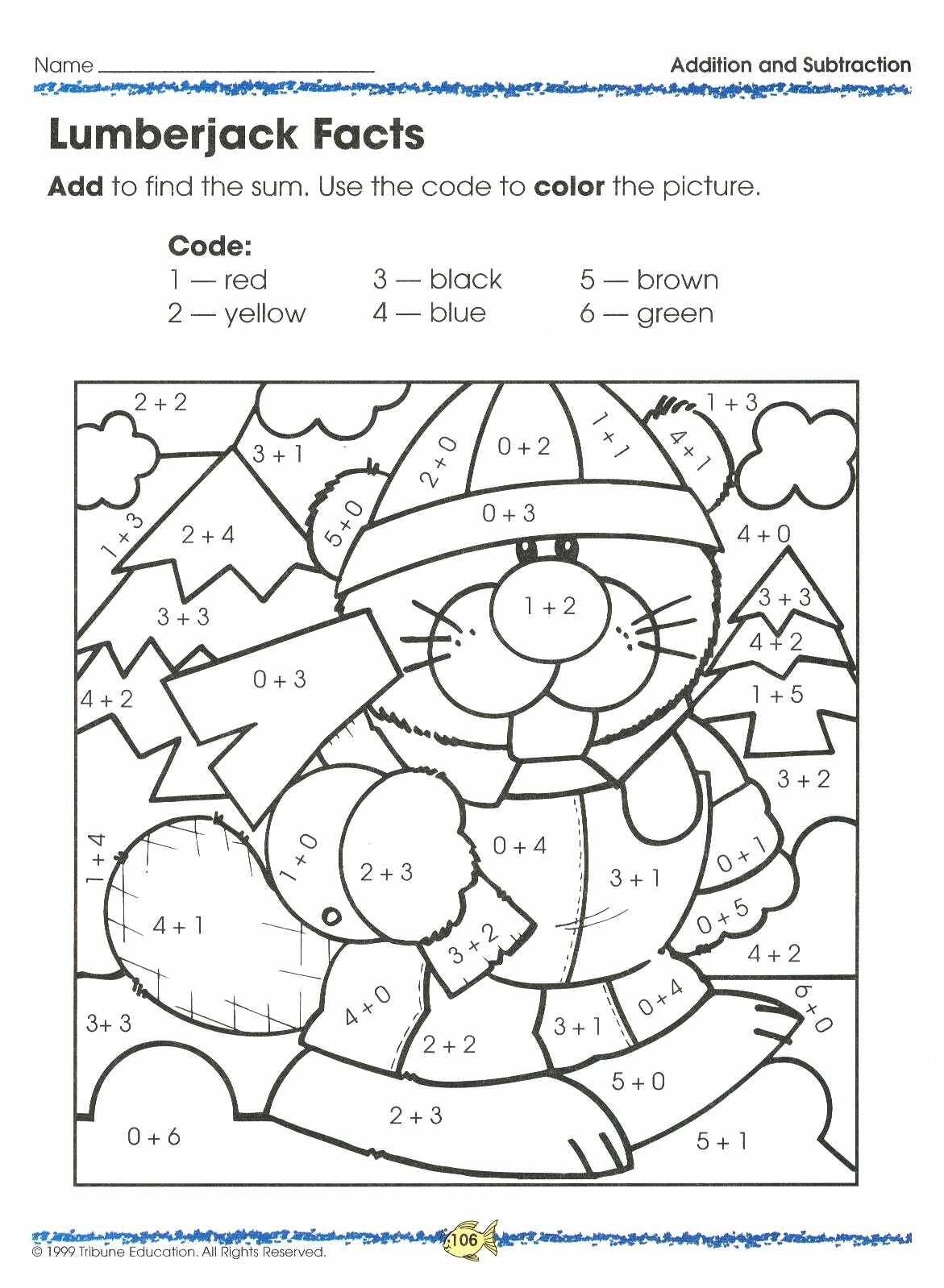 Counting Math Worksheet For Adults