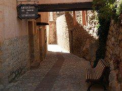 Albarracín, Callejuela, Pueblo Medieval