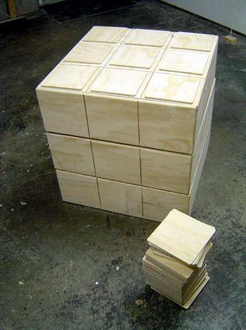 DIY Amazing - Rubik's Cube Chest of Drawers