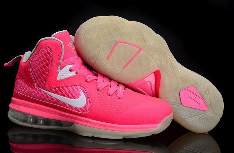 Nike Lebron 9 Women S Basketball Shoe Pink Basketball Shoes Nike