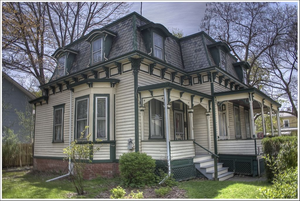 Mansard Roof House Mansard Roof Roof Architecture House Roof
