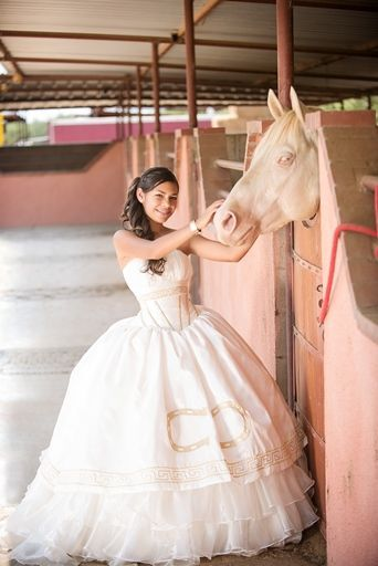 54a2655bdb Country Style Quinceanera