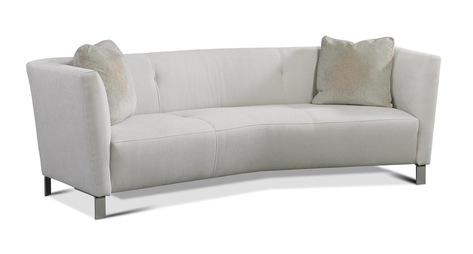 Mallory Sofa The Mallory Sofa Has A Cabriole Form With The Arms