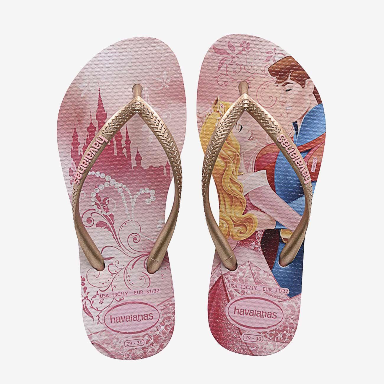 Havaianas Disney Chaussures Roses Pour Enfants or8Q9fh7Y