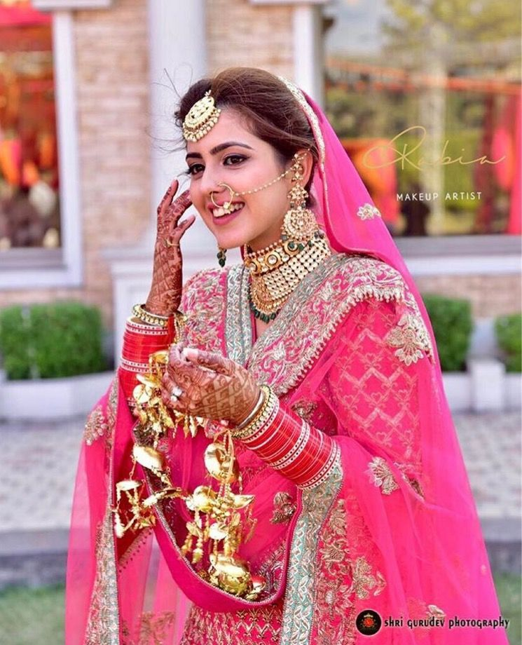 Pin by Sukhman Cheema on Punjabi Royal Brides | Pinterest ...