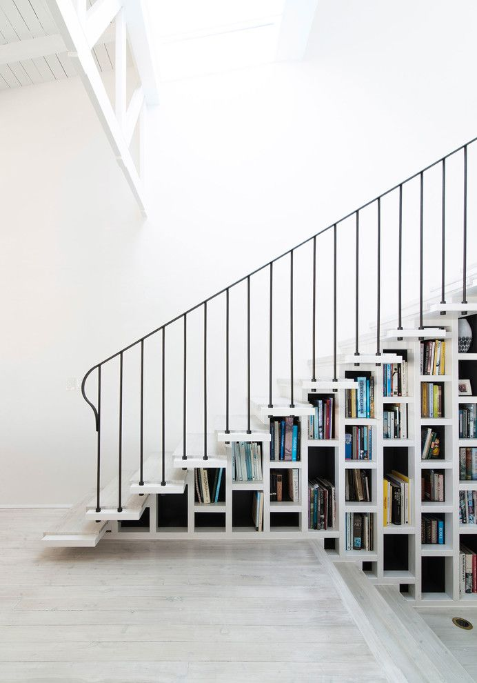 Stair Step Bookcase Books Shelves Stars Beach Style Staircase Of The Best Stair  Step Bookcase Combos