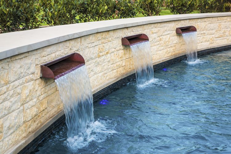 Radius Scuppers (Copper) | Swimming pools, Backyard, Outdoor ...