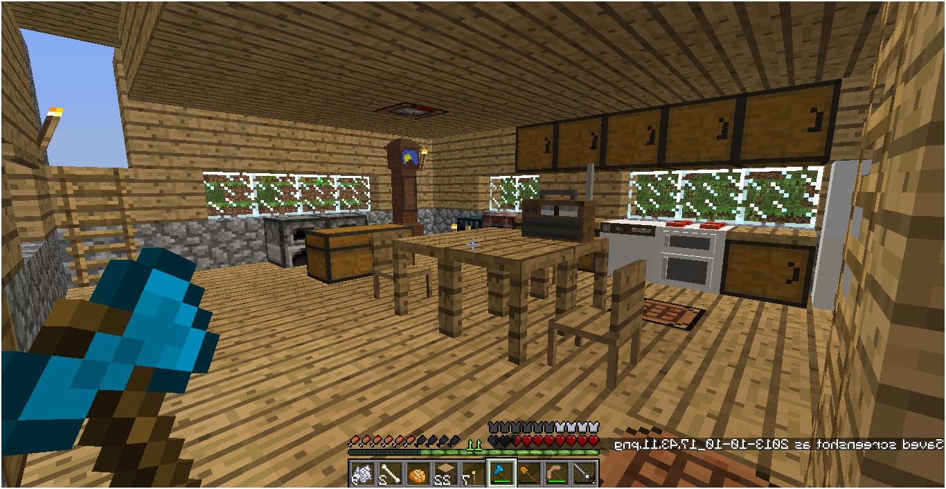 Minecraft Kitchen Appliances