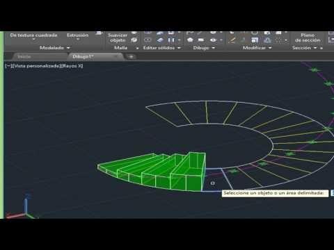 Como Hacer Una Escalera En Autocad Youtube Autocad Como Hacer Arquitectura