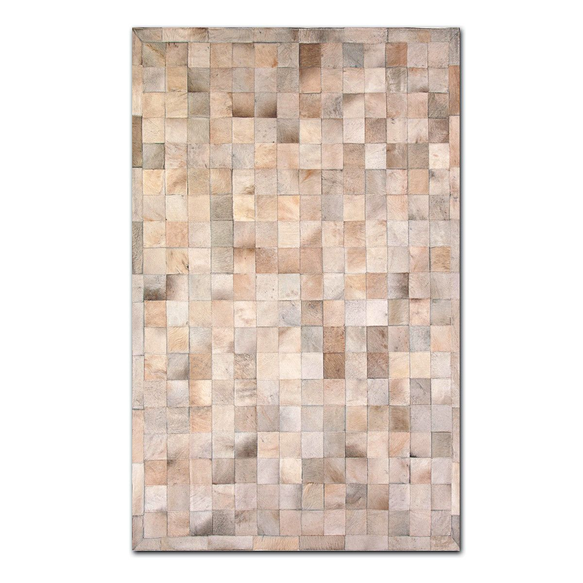 Fab.com | Barcelona Cowhide 8x5 Tan $500  A touch of the wild goes a long way into rejuvenating your decor. Designed and produced by Canada-based Natural, this rich, 100% genuine cowhide rug is a high-quality accent for that formerly dull floor—and it feels absolutely seductive as it pools beneath your feet.