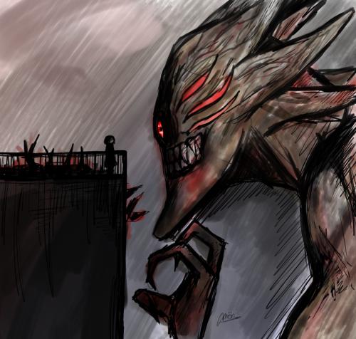 """You, Vile Pest."""