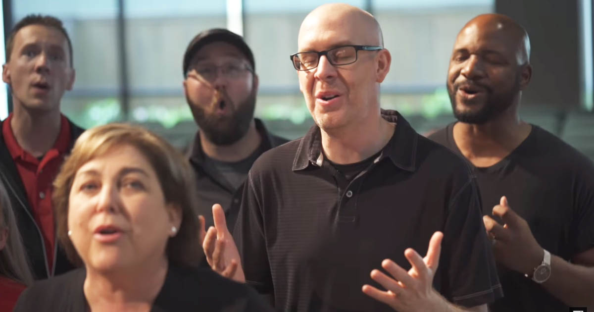This A Cappella Cover Of 'Behold Our God' Is Incredibly