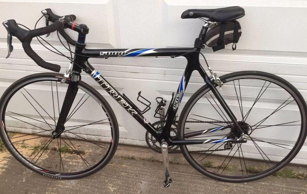 Trek 5000 Road Bike 56cm Carbon Fiber Roadbike Bike Road Bike Fixed Gear Bike
