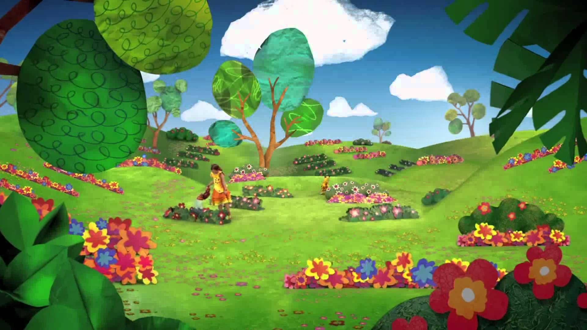 Jardin con flores dibujo cerca amb google anna 15 16 - Jardines con rosas ...