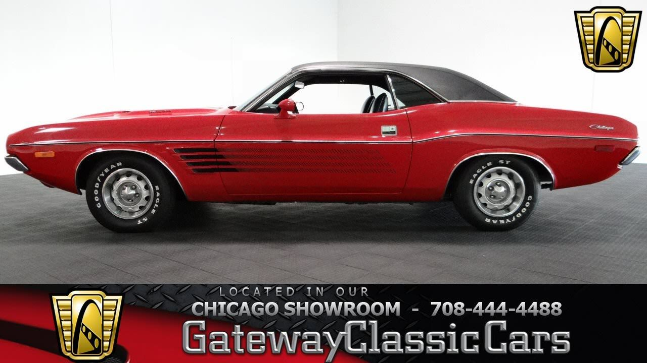 1972 Dodge Challenger Gateway Classic Cars Chicago 864