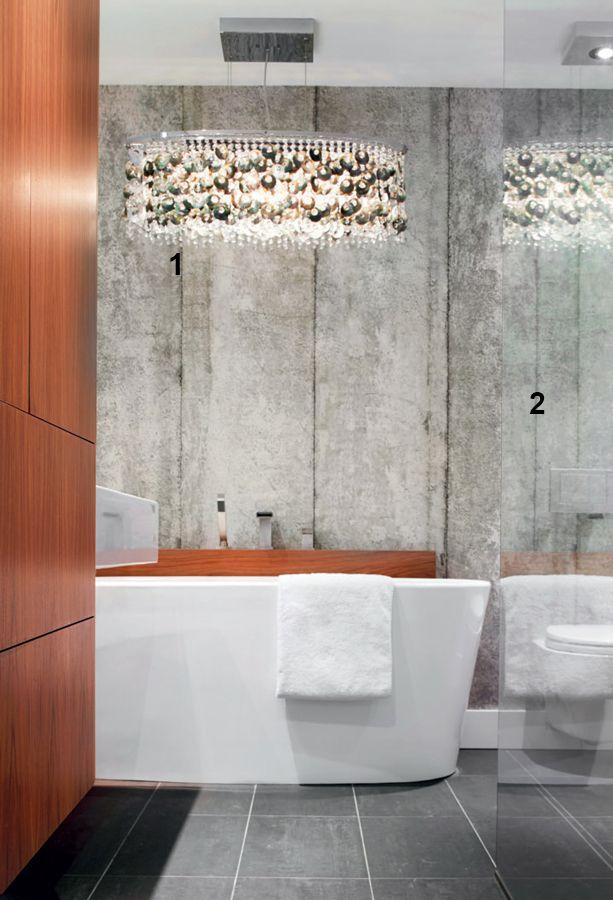 Décoration petite salle de bains Décormag 1- Point focal dans la
