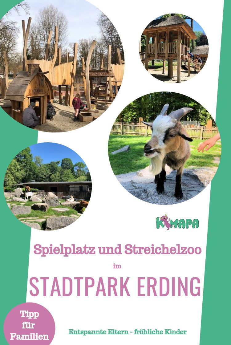 Stadtpark Erding Stadtpark Streichelzoo Spielplatz