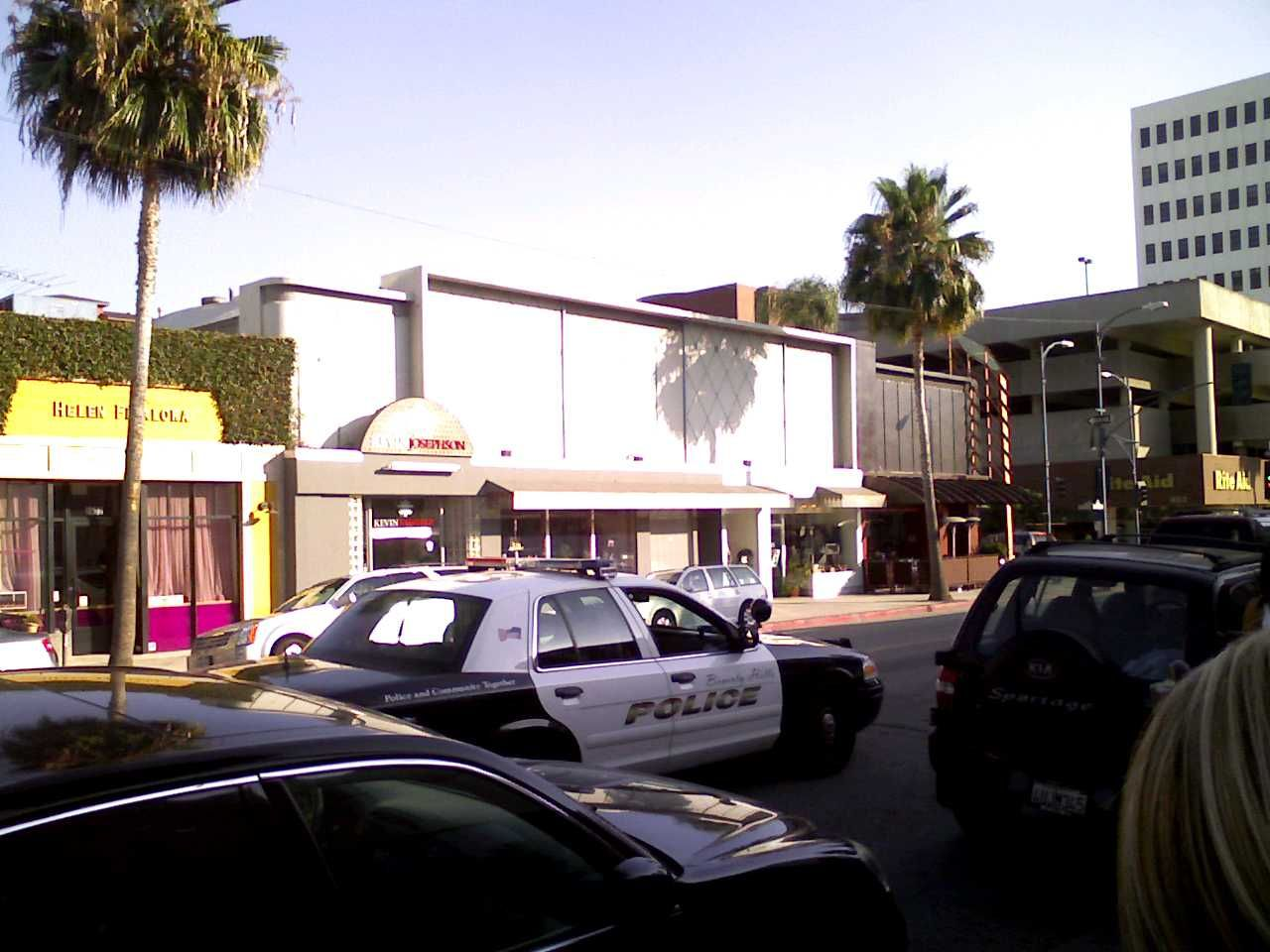 Beverly Hills PD Emergency service, Police cars, Car photos