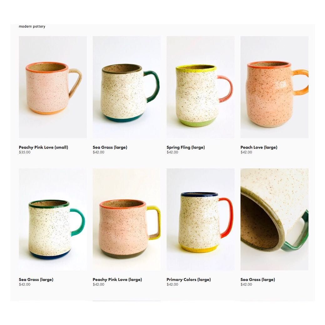 Commune Pottery On Instagram Get Ur Mugs Now Limited Supplies Link In Bio With Images Pottery Modern Pottery Mugs