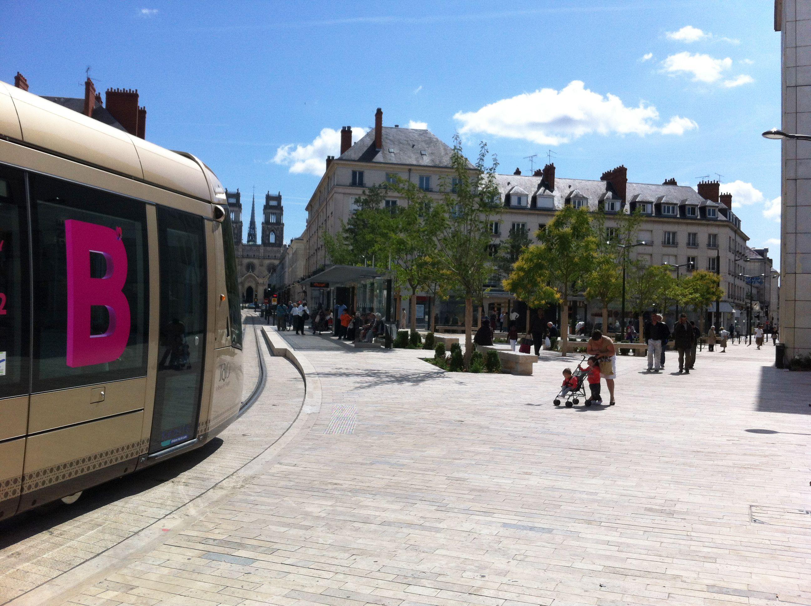 Maître D Oeuvre Orléans atelier villes & paysages / création de la seconde ligne de
