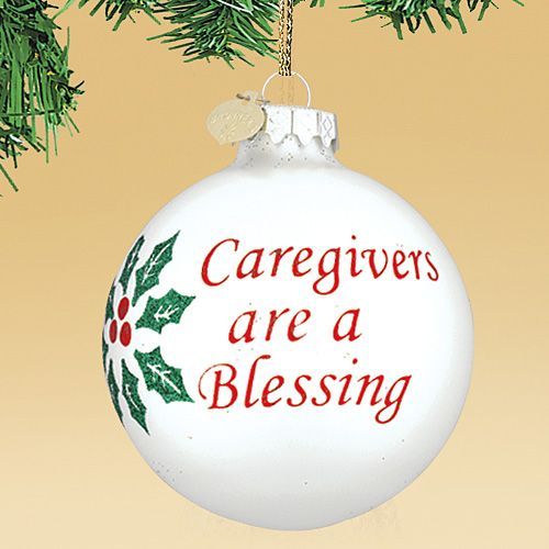 CAREGIVERS BLESSING ORNAMENT