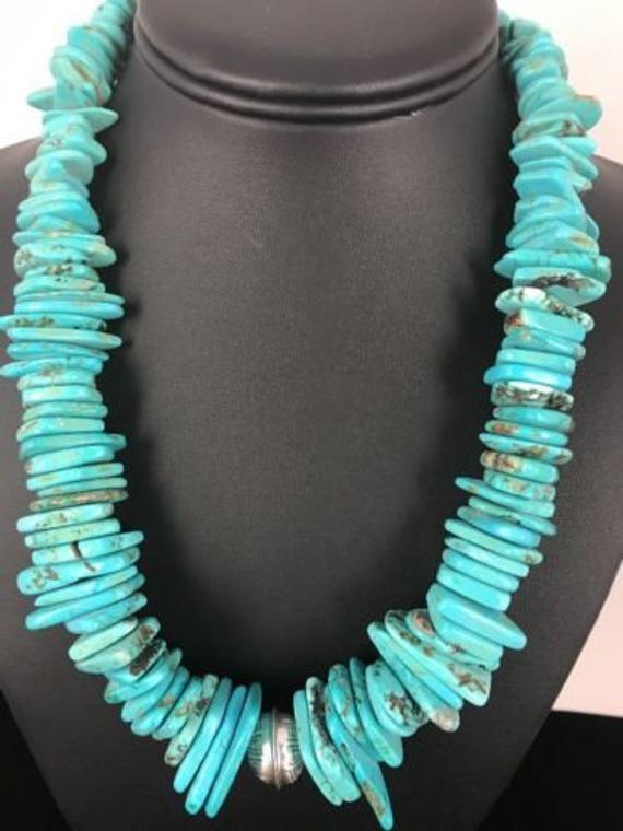 Native American Navajo Pearl Sterling Silver Turqu
