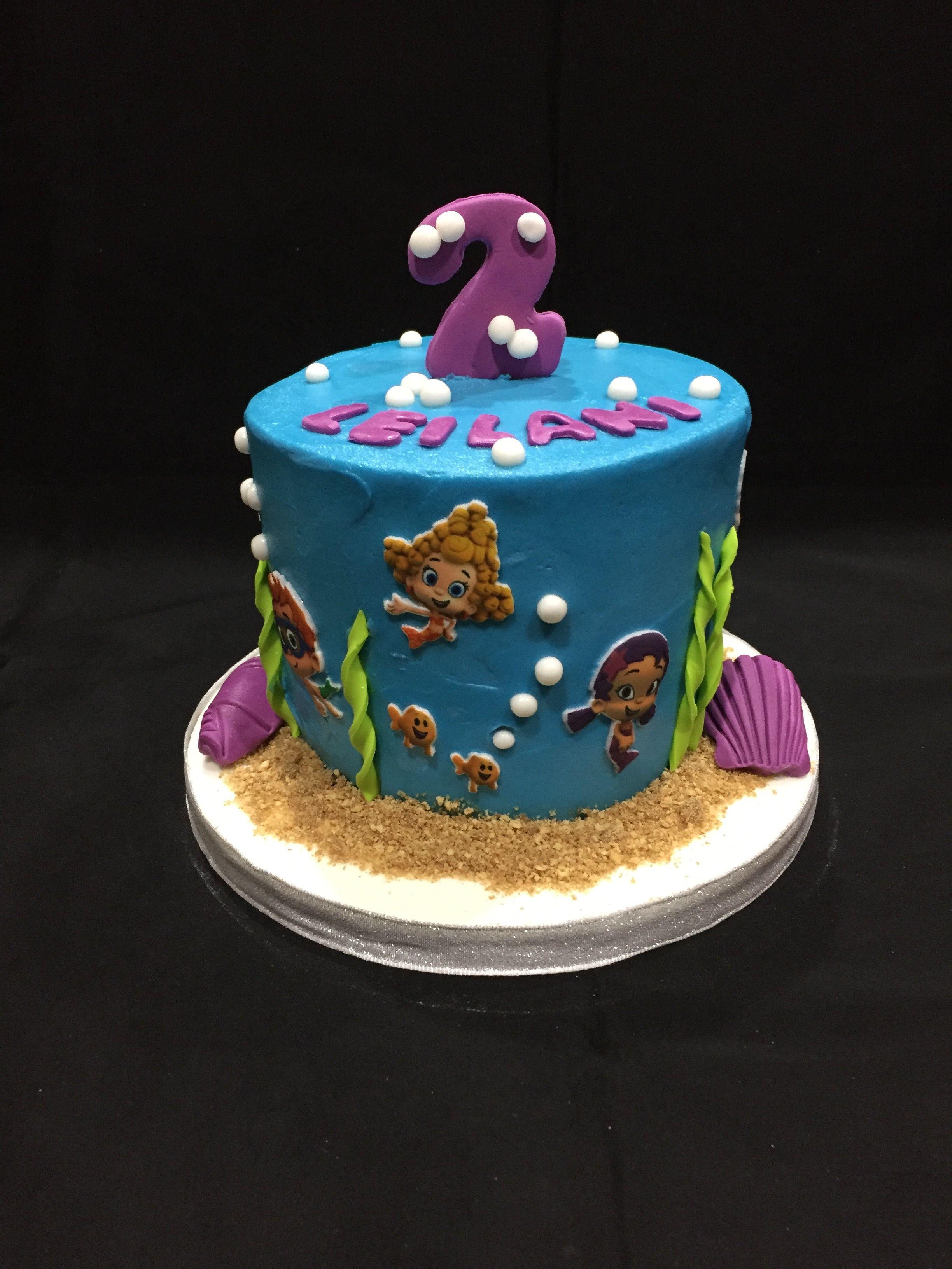 Bubble Guppies cake Bubble guppies cake, Cake, Custom cakes