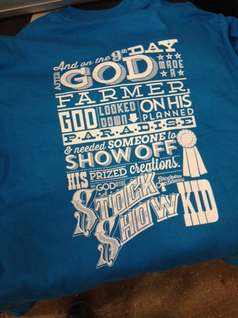 08ab440a0 I love my God Made a Stockshow Kid T-shirt. | My Style | Showing ...